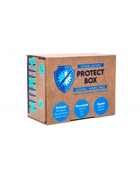 protect box S pack de 10 lingettes safe touch +