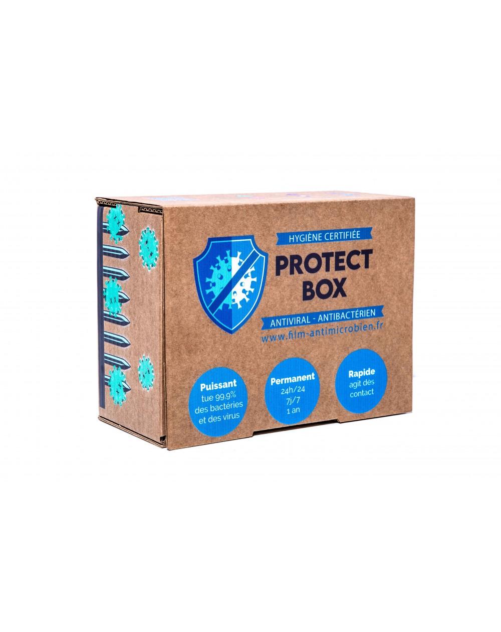 protect box S pack de 10 lingettes safe touch +