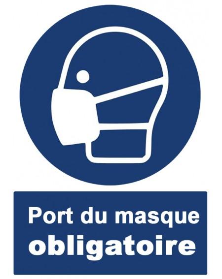 Norme ISO 7010 Port du masque obligatoire