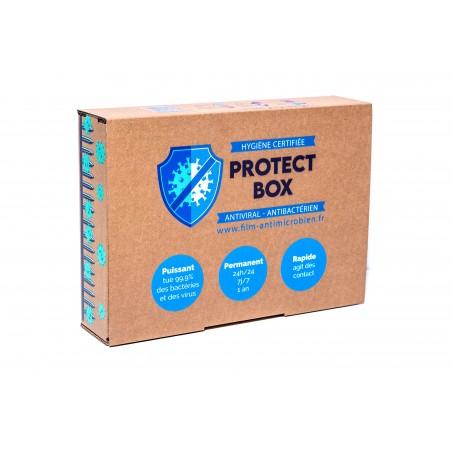 protect box M pack de 20 lingettes safe touch +