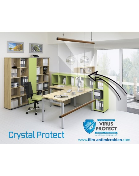 Exclu Safetouchplus ! Ecran protection Crystal Protect by Virus Protect
