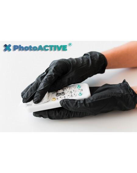 Application de PhotoACTIVE en spray sur les télécommandes de clim, télécommandes de téléviseurs