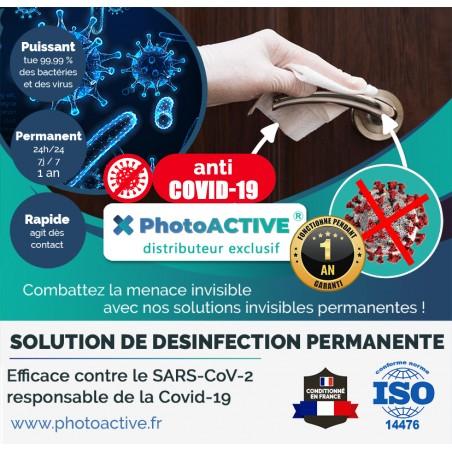 boite de lingette photoactive ! La désinfection nouvelle génération