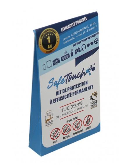 pochette du kit de désinfection permanente safe touch +